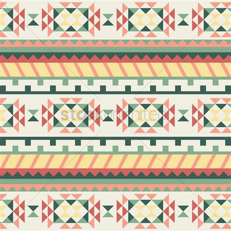 seamless tribal pattern seamless tribal pattern vector image 1621370