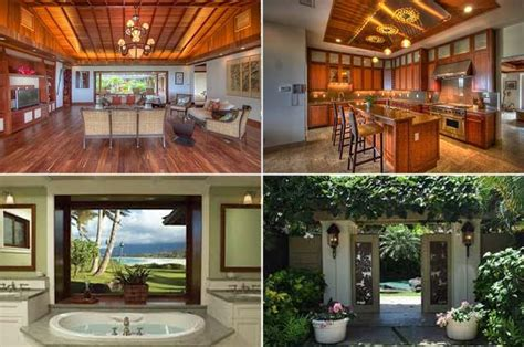 barack obama house in hawaii homes of the rich and look inside obama heads back to vacation in oahu ny