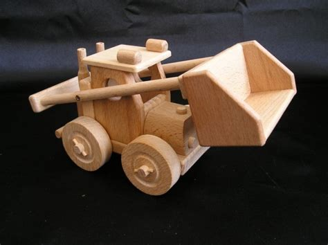 loader  truck dump trucks mobile wooden toys wooden