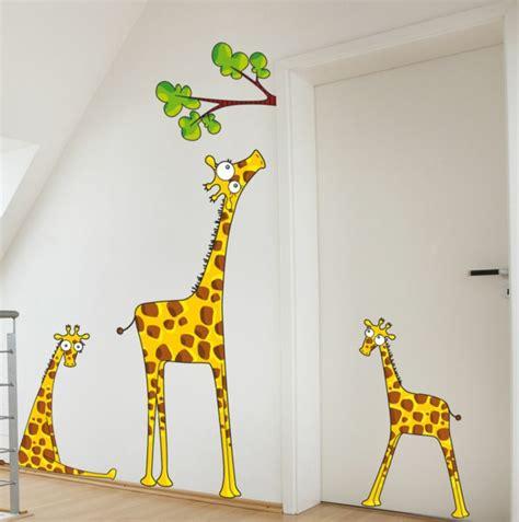 Wandtattoo Kinderzimmer Giraffe by Wandsticker Kinderzimmer Farbe Und Freude An Der