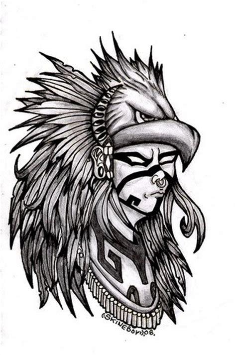 imagenes caballeros aztecas caballero aguila por skineboy dibujando