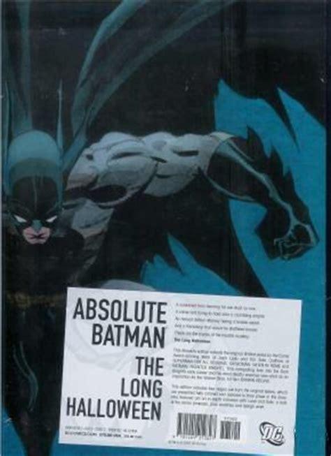 absolute batman the long 1401212824 batman the long halloween hc on collectorz com core comics