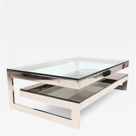 chrome coffee table belgo chrome chrome g coffee table