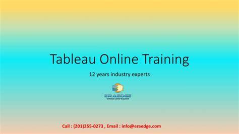tableau tutorial ppt download ppt tableau online training in usa uk aus eraedge