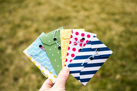 Envelopes For Gift Cards - diy gift card envelopes tutorial