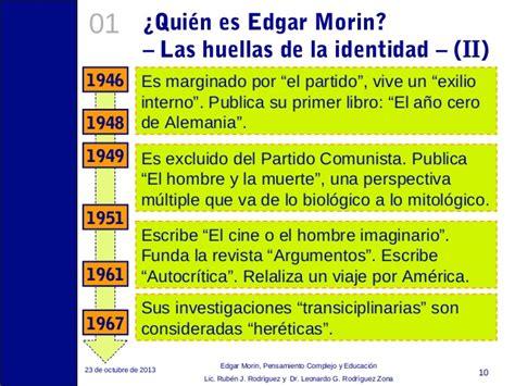 Resumen 7 Saberes De Edgar Morin by Pensamiento Complejo Y Siete Saberes De Edgar Morin 2015