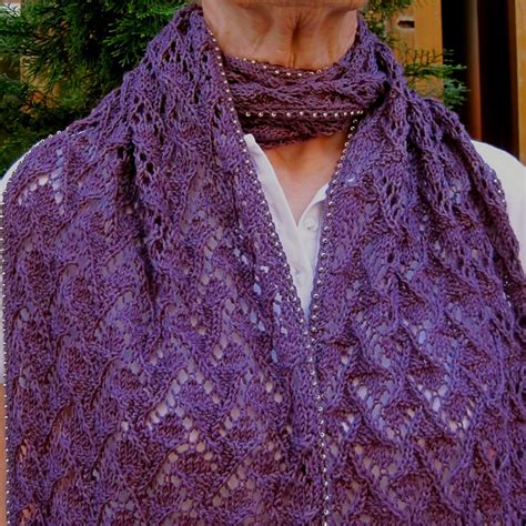 ravelry another scarf with optional bead crocheted