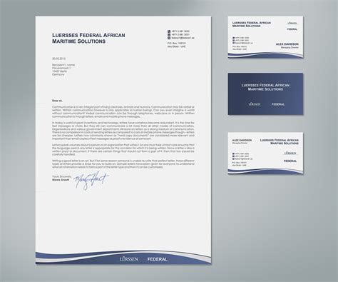Companies That Make Paper - playful letterhead design for aziz tohme by