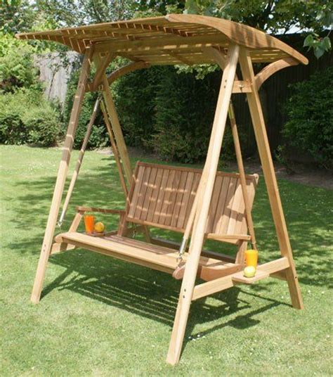 wooden outdoor swing seat fsc hardwood colonial 2 seater garden hammock swing seat