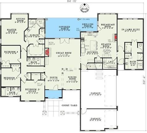 home plans with in law suite 17 best images about in law suites on pinterest