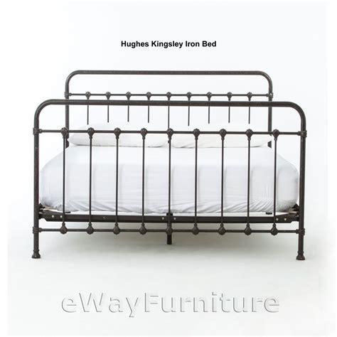 iron queen bed hughes kingsley iron queen bed