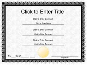 certificate of template free completion certificate template certificate templates