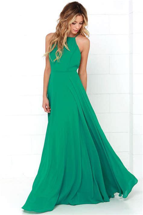 Lovy Dress by Beautiful Green Dress Maxi Dress Backless Maxi Dress