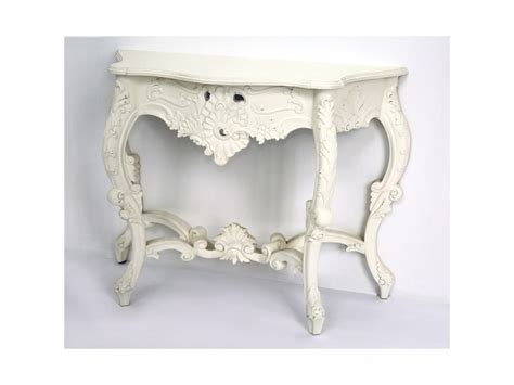 White Ornate Console Table Console Table Ideal For