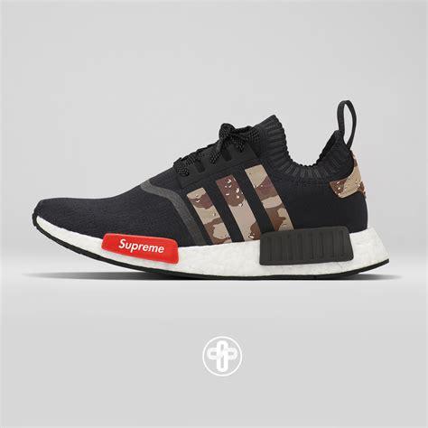 supreme shoes supreme x adidas nmd r1 desert camo f o o t w e a r