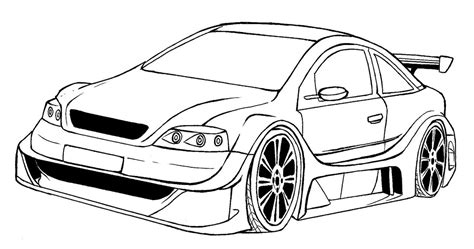 imagenes para dibujar a lapiz de autos dibujo de autos tuning para colorear en tu tiempo libre