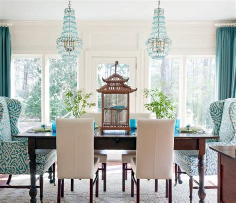 turquoise dining room shop the look the turquoise dining room