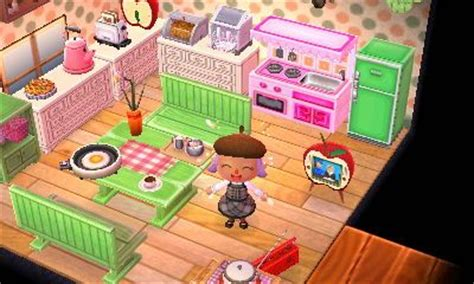 Acnl Room Ideas by Pink And Green Kitchen Acnl Animal
