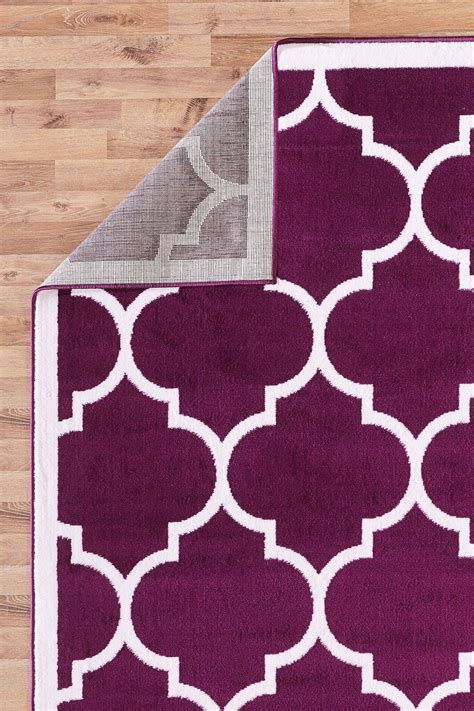 Large Modern Area Rugs Large Modern Geometric Trellis Thin Carpet Contemporary Soft Area Rug
