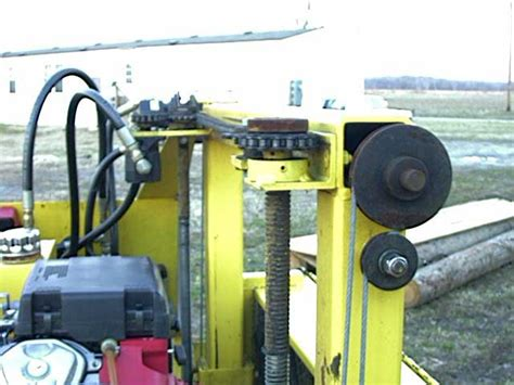 Hydraulics For A Bandsaw Mill