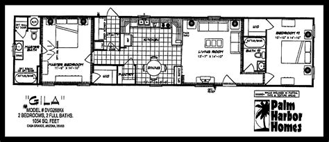 trailer house floor plans 2007 palm harbor lot 344 desert pueblo mobile homes
