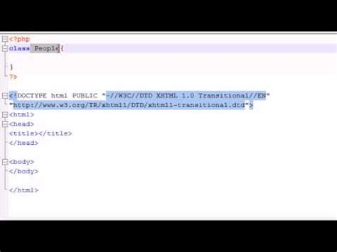 tutorial php oo php tutorial 36 introduction to object oriented php