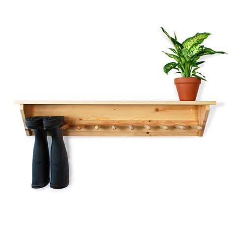 wall hanging welly rack 6 pair