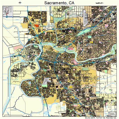 sacramento california map sacramento california map 0664000