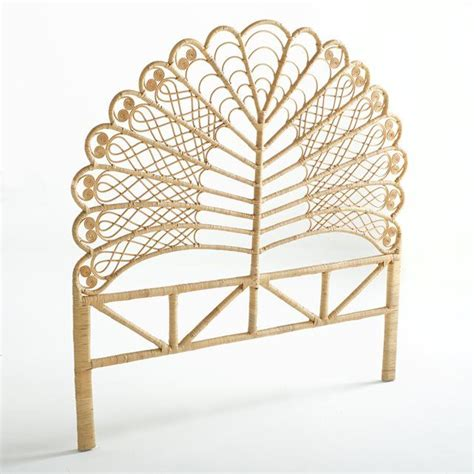 rattan headboard best 25 rattan headboard ideas on pinterest rattan bed