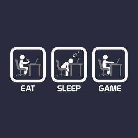 Eat Sleep t shirts eat sleep pc teepublic