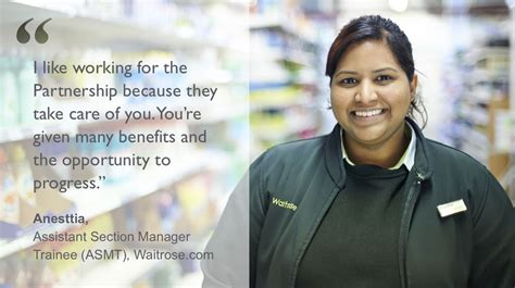 Section Manager Waitrose Salary by Waitrose Careers
