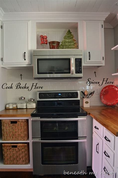 Kitchen Design With Corner Sink by Our Diy Under The Cabinet Cook Book Holder Beneath My Heart