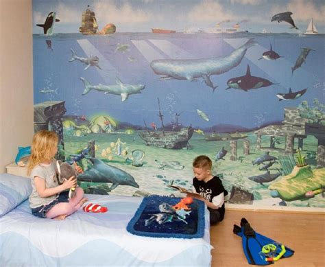 home design sea theme ocean themed room for kids room decorating ideas home