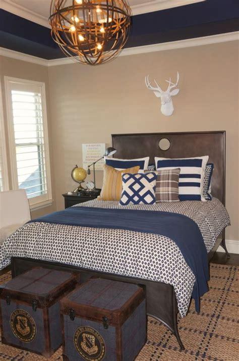guest bedroom paint progress how to nest for less boy s room navy paint accents blue nest design