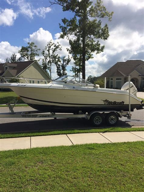 wellcraft sportsman boats for sale wellcraft 210 sportsman 2000 for sale for 16 221 boats