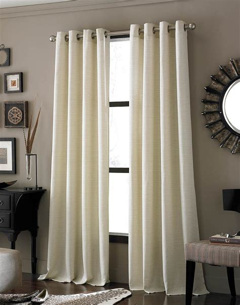 ivory lined curtains ivory lined panel grommet curtain simple elegant and