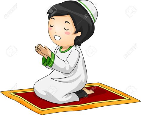 prayer clip muslim praying clipart clipground