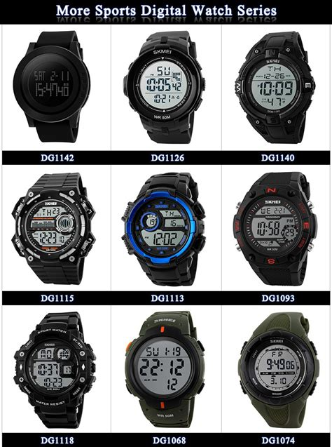 Skmei Dual Time Sport skmei brand analog digital dual time sport watches for