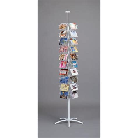 Postcard Display Rack by Floor Spinner Displays Post Card Displays