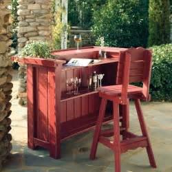 Outside Bar Uwharrie Chair Companion Bar Stool Outdoor Bar Set Atg