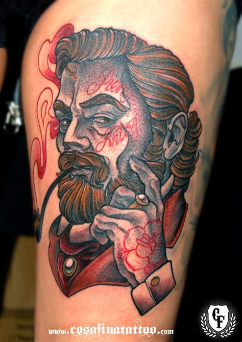 neo traditional tattoo pinterest neo traditional gentleman google search tattoo