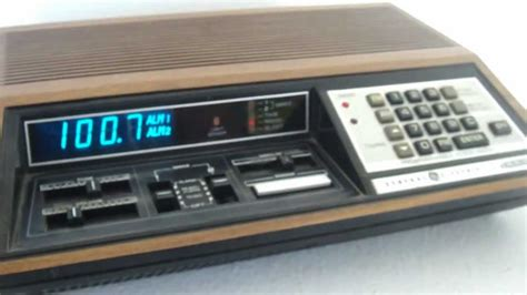 ge model 4885 programmable clock radio for sale on ebay
