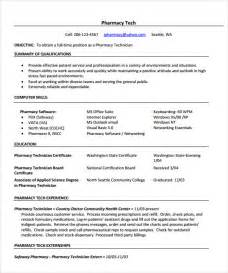 Pharmacist Resume Sle Free Sle Pharmacist Resume 9 Documents In Pdf