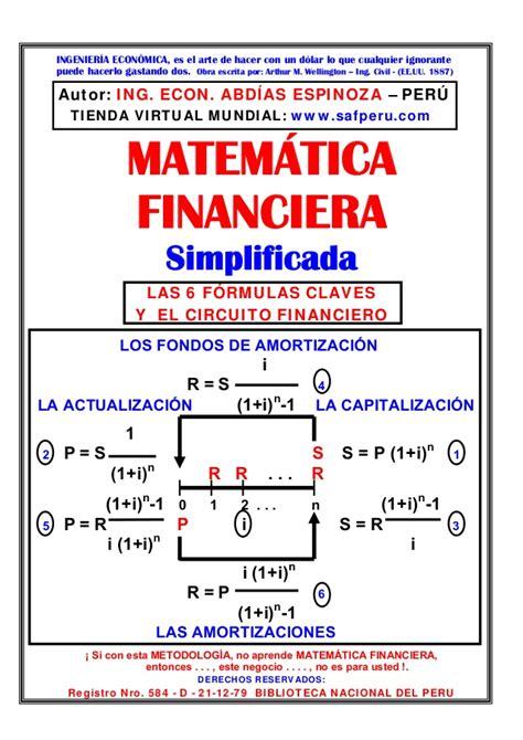 imagenes de matematica finaciera matematica financiera simplificada