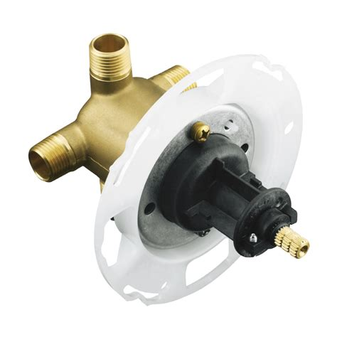 Kohler Faucet Valve by Shop Kohler 4 In L 1 2 In Sweat Brass Wall Faucet Valve At