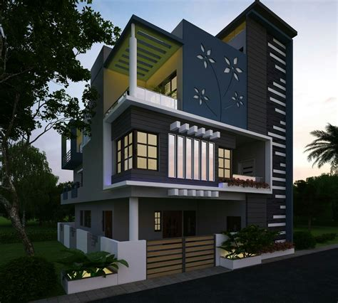 house wall elevation design