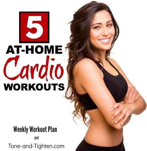 5 great at home cardio workouts with equipment