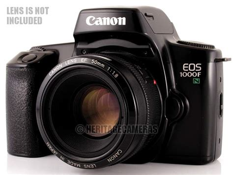 recommended canon film camera canon eos 1000fn 35mm film slr camera body only with built