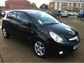 2009 Vauxhall Corsa Used Black Vauxhall Corsa 2009 Petrol 1 2i 16v Sxi 5dr