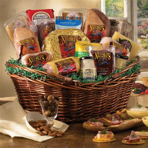 gifts baskets and cheese gift basket gift basket supreme nueske s